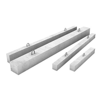 Перемычка бетонная 3ПБ30-8 брусковая