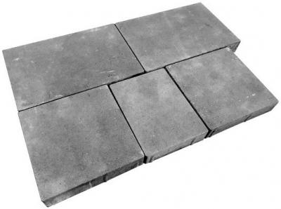 Тротуарная плитка «Модерн М» Без фаски h60 мм - комплект из 5-ти камней