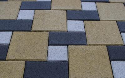 Тротуарная плитка Квадрат 200х200х60