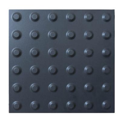 Плитка тактильна керамогранитная 300х300х10мм Конус (предупреждающая)