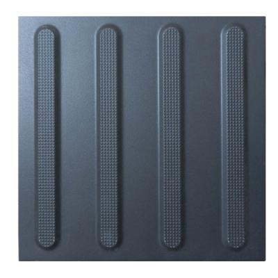 Плитка тактильна керамогранитная 300х300х10мм Полоса (направляющая)