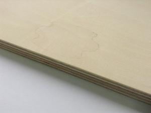 Фанера влагостойкая 10х1525х1525 мм, сорт - 2/4 (ВВ/С)